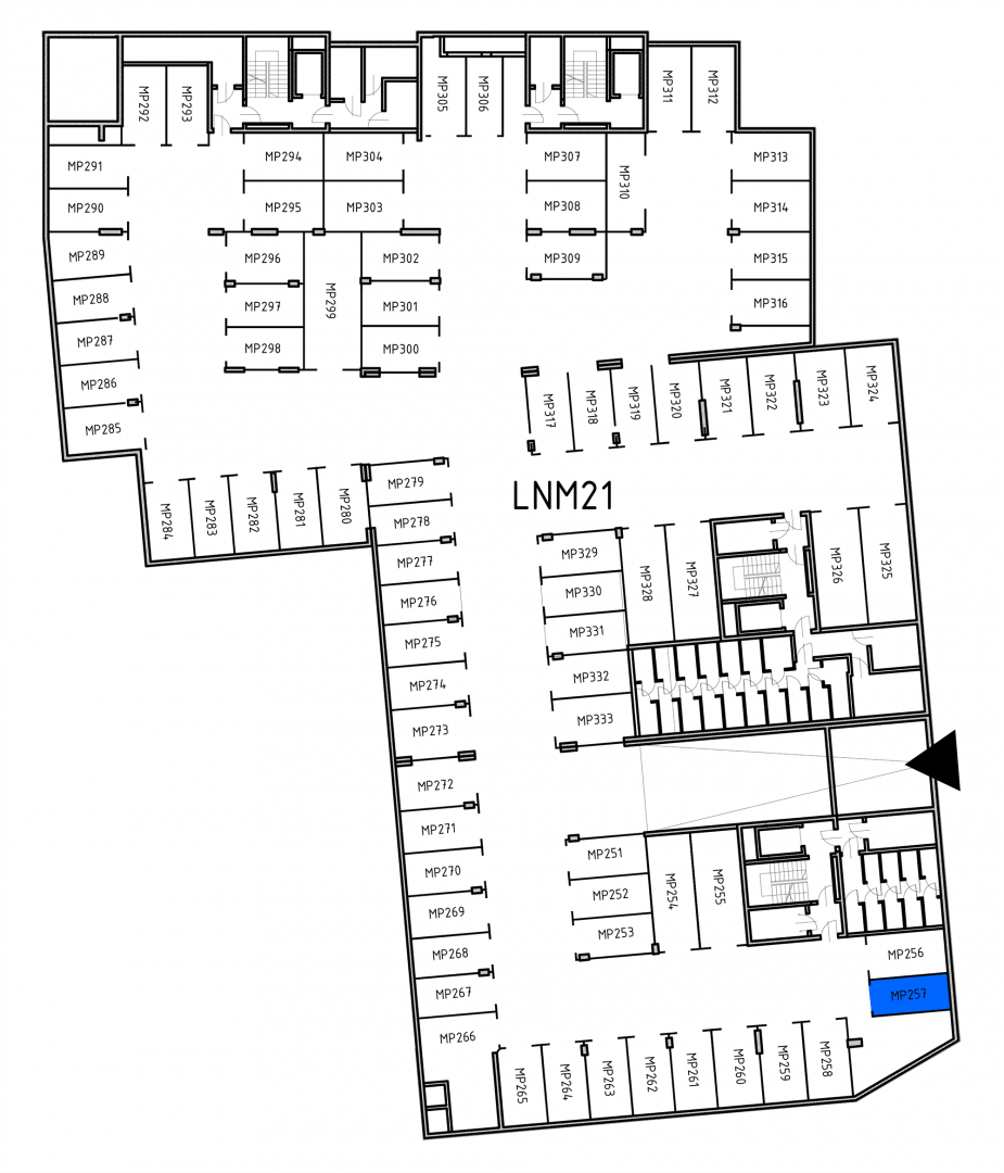 Miejsca parkingowe 32H32J/x257 rzut 1