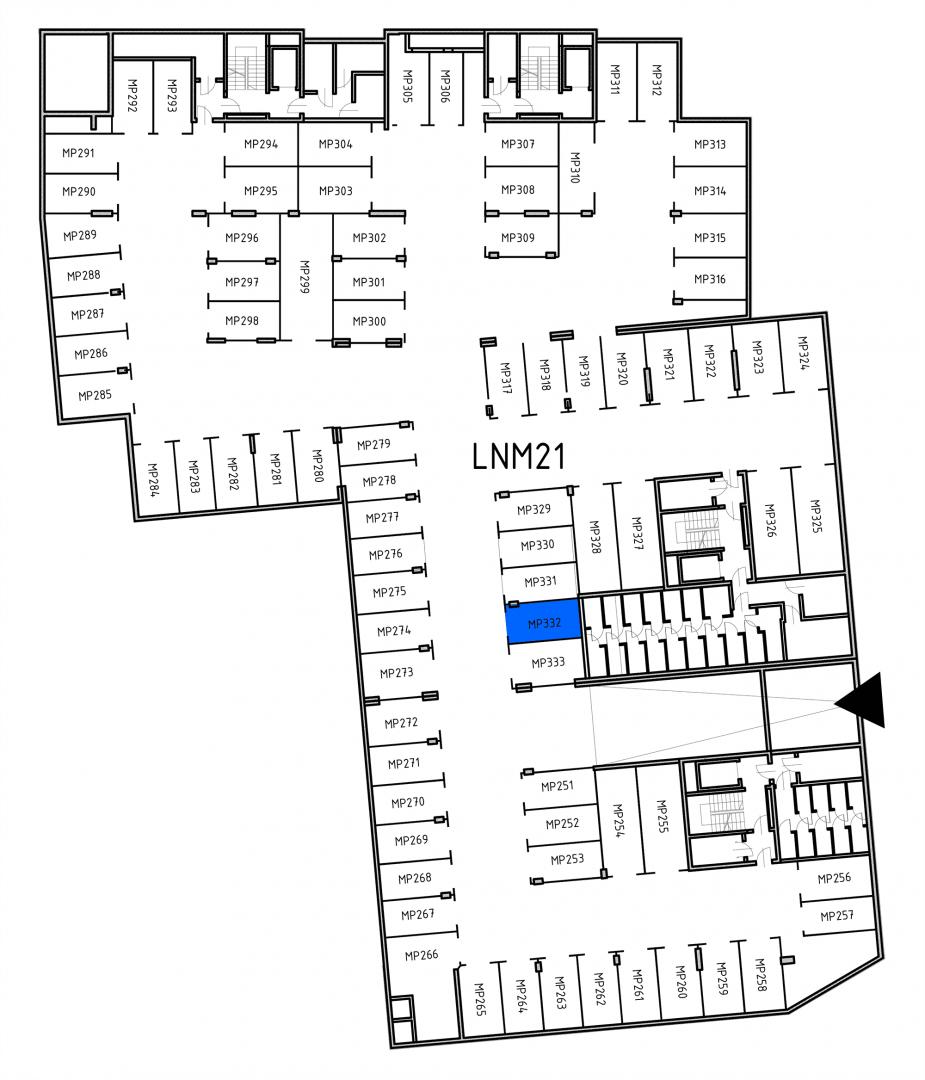 Miejsca parkingowe 32H32J/x332 rzut 1